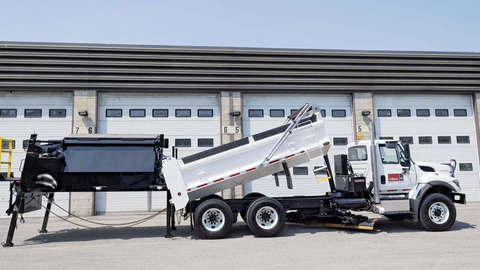 The City of Calgary fleet team in Canada developed a piece of equipment  that allows road crews...