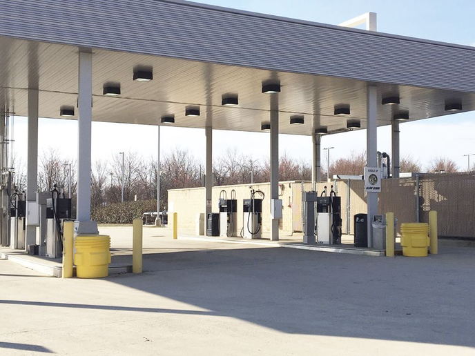 Fleets need to obtain the right resources to maintain fuel station operations, said the Montgomery County, Md., fuel program manager, who oversees the fueling site pictured.