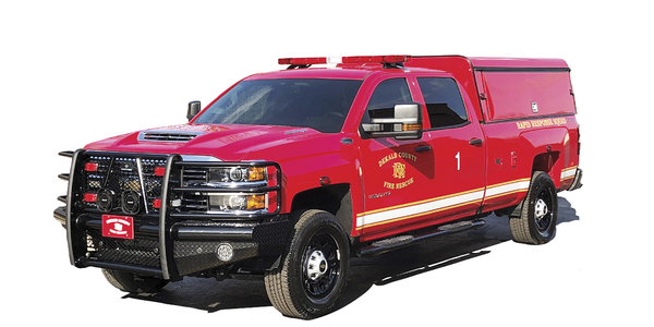 Smaller rapid response fire trucks are less expensive to operate than larger fire trucks and...