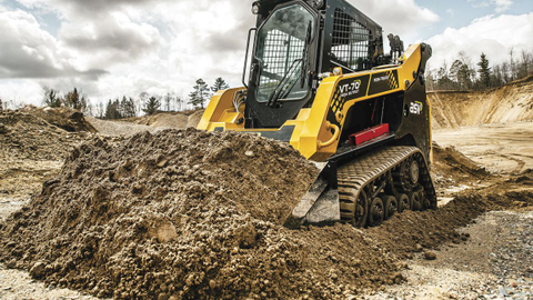The ASV VT-70 High-Output Posi-Track Loader is an all-season vehicle that works equally well in...