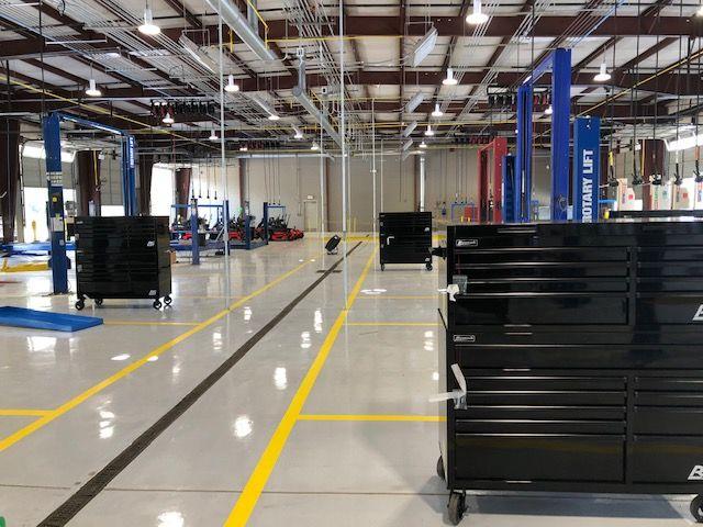 The$1.4 million renovated facility combines three separate fleet facilities into one.  - Photo courtesy of City of Albany
