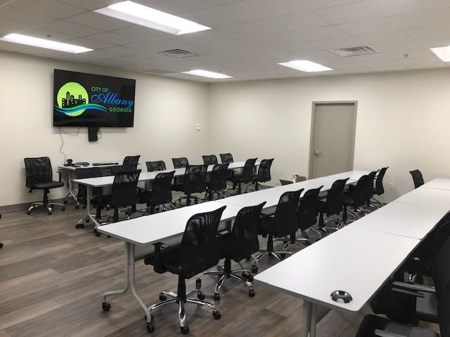 A new dedicated training and conference room will be used during technical classes and training.