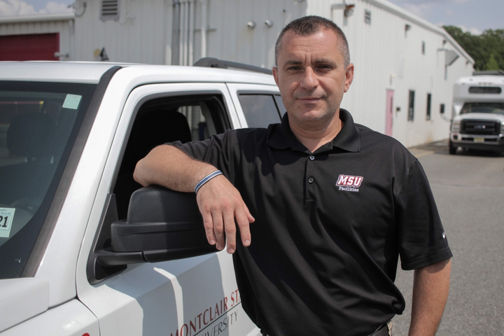 Ben Ceca started as a technician at Montclair State University in 2013.  - Photo courtesy of Montclair State University