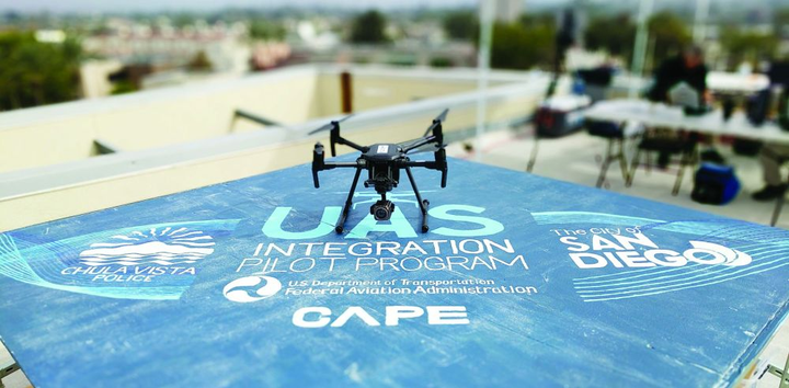 Cape's platform allows agencies patrol with a drone before officers arrive.  - Photo courtesy of Cape