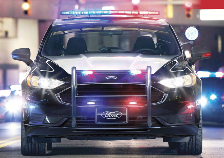 Hybrid gas-electric vehicles are being used for patrol duties in a number of U.S. cities, including New York.