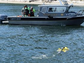 Tech Helps Police Find Evidence Under Water