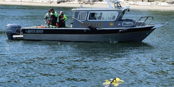 JW Fishers' ROV can find evidence such as firearms or even bodies under water.