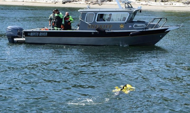 JW Fishers' ROV can find evidence such as firearms or even bodies under water. - Photo courtesy of JW Fishers