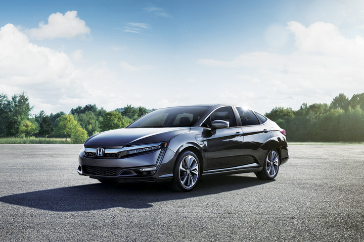 California state agencies can purchase vehicles such as the Honda Clarity PHEV (pictured) - ​Photo courtesy of California DGS