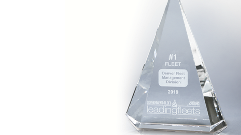 The No. 1 Small, Mid-Size, and Large Fleets are recognized and awarded a trophy during the...