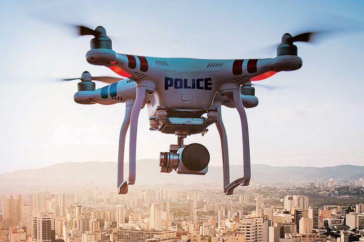 Unmanned aircraft systems offer many benefits to law enforcement agencies but only if properly trained personnel are using the right tools for the job and best practices are followed. - Composite image by Kevin Haegele