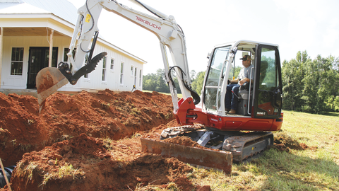 Operator comfort is one of the four pillars of Takeuchi's latest excavator, featuring a...