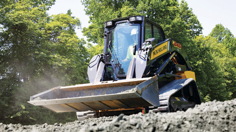 "New Holland's ""largest compact track loader yet"" includes greater lifting capacity and..."
