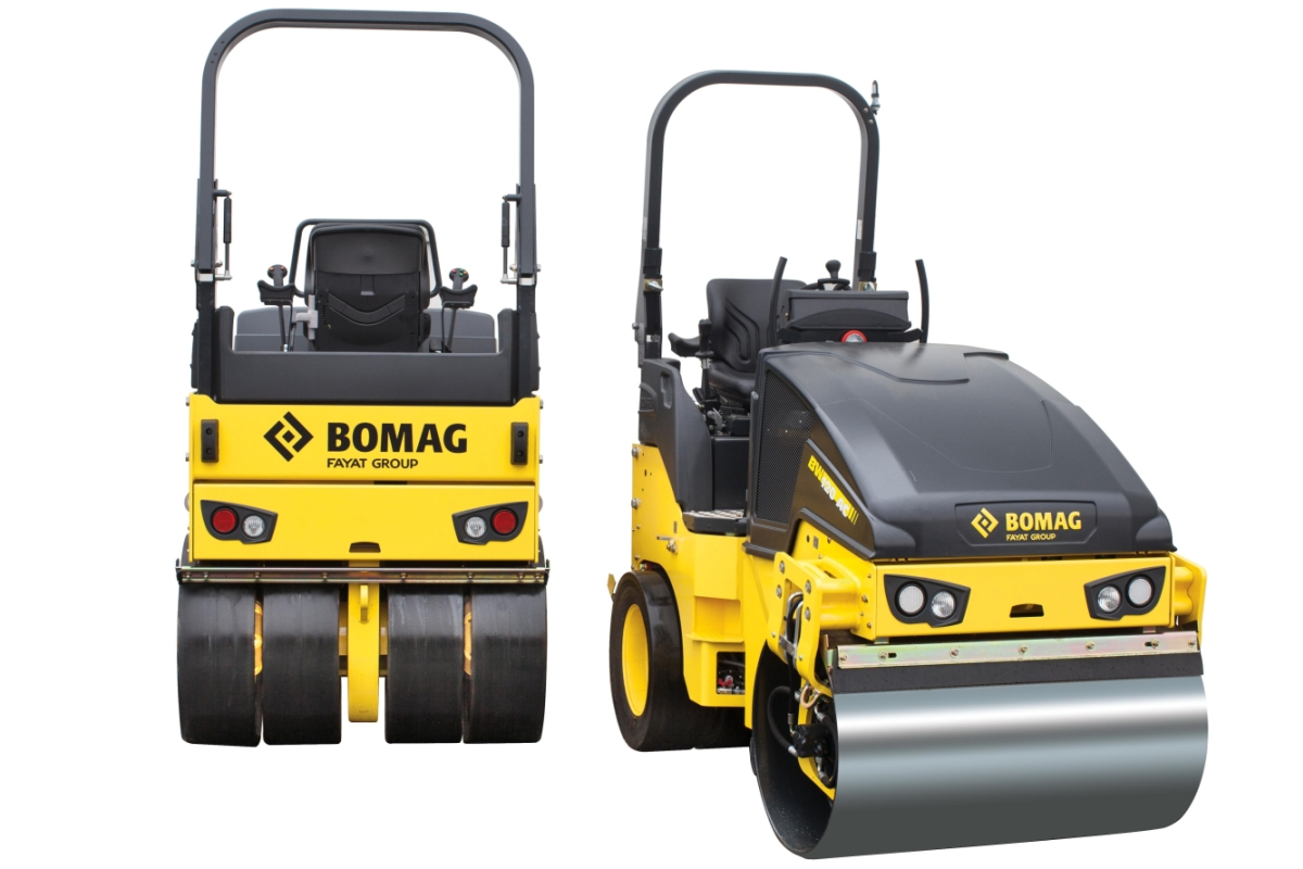 BOMAG Delivers with New Combination Roller
