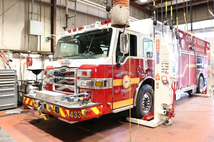 The City of Fairfax, Va., brought back maintenance of its fire fleet in-house, resulting in significant cost savings. - Photo: City of Fairfax