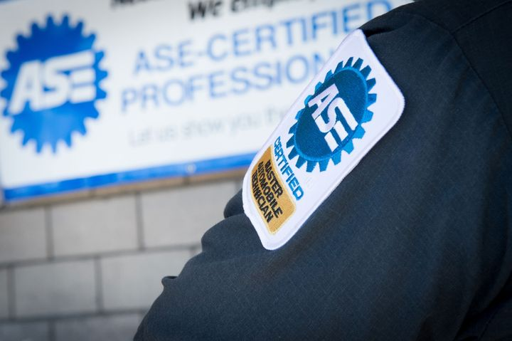 ASE's new app gives technicians the ability to extend their A-series certifications online.  - Photo: ASE