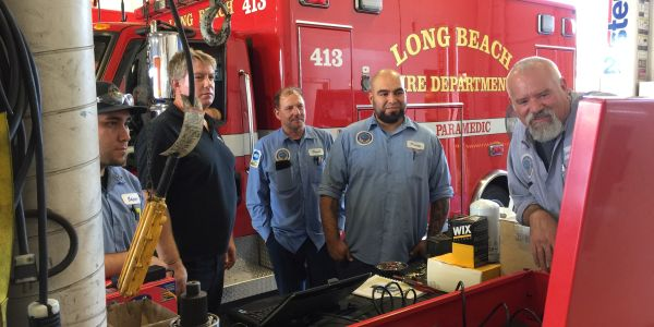 The City of Long Beach, Calif., offers about three training classes a month. The fleet bureau...