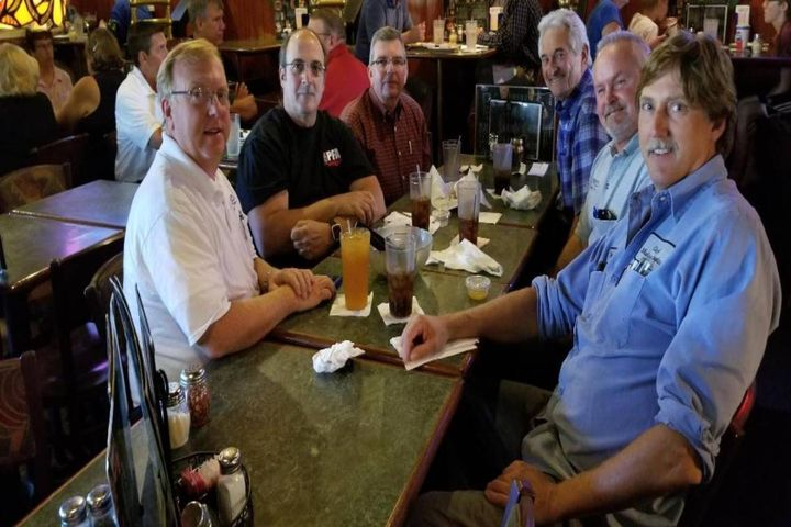 """The """"fleet dinosaurs,"""" a group of fleet managers who have now all retired, meet regularly to brainstorm and solve issues. - Photos: City Of Rochester Hills, Bruce Halliday"""