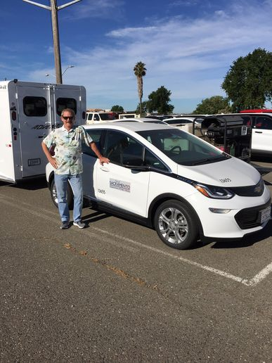 One of Mark Stevens' proudest accomplishments is helping transition from six electric vehicles (EVs) to an anticipated 100 in the fleet by the end of the year. - PHOTOS: CITY OF SACRAMENTO