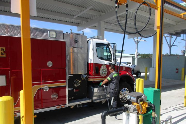 Having the proper fuel amounts in your tanks does not guarantee you can get it where you need it when you want it.  - Photo: Pasco County, Fla.