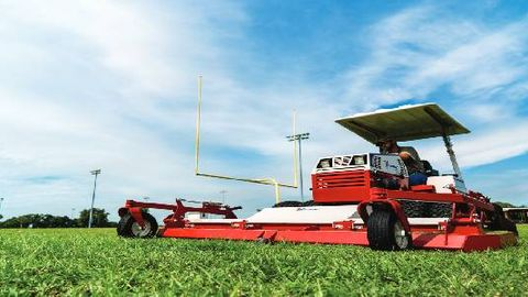 Ventrac Mower 'Makes Tall Grass Short, Fast'