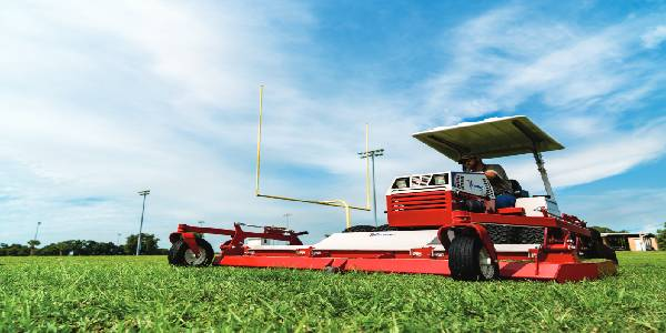 Ventrac Mower 'Makes Tall Grass Short, Fast'