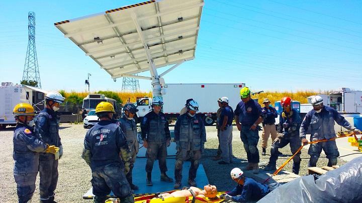 EV ARC™ Solar Microgrid Powers 3-Day Anti-Terrorist Field Training Exercise