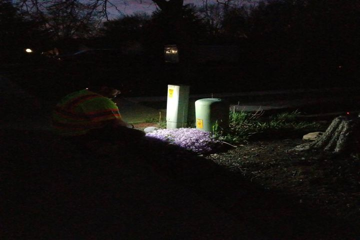 According to Len Bunaisky, field supervisor and safety committee liaison for USIC in North East Ohio, there has been a definite increase in visibility during emergencies at night, and the white floodlight front helps when walking in uneven terrain. - Photo:USIC, North East Ohio
