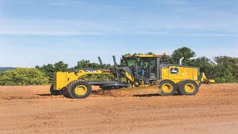 Motor Grader Upgrades Seek to Boost Efficiency, Reduce Downtime
