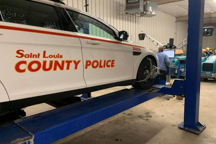 Because Police Departments are so important to the community, assisting officers by helping them respond to incidents in vehicles that are reliable and safe to operate is a priority. - Photo:St. Louis County, Missouri