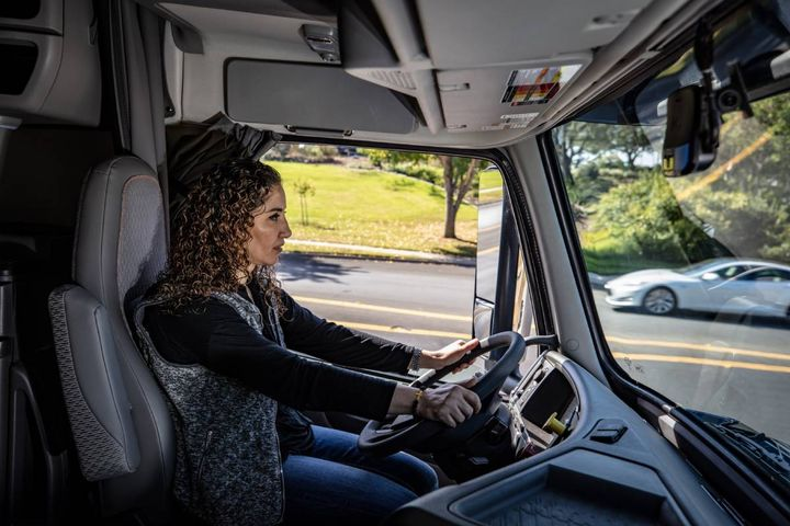 Among more effective technologies are driver cameras that can monitor distracted movements indicating the use of a phone or device. - Photo: Lytx