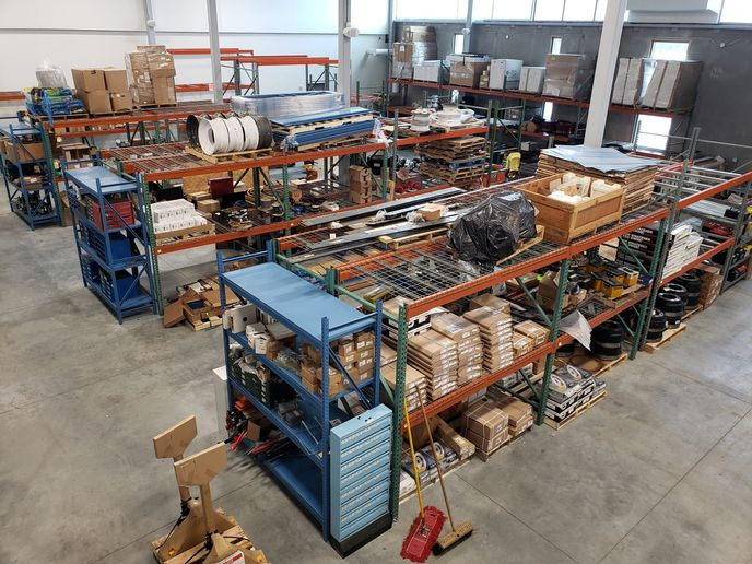 In 2021, the City of Madison fleet operation moved into a new consolidated facility, which houses a larger parts room. - Photo: City of Madison