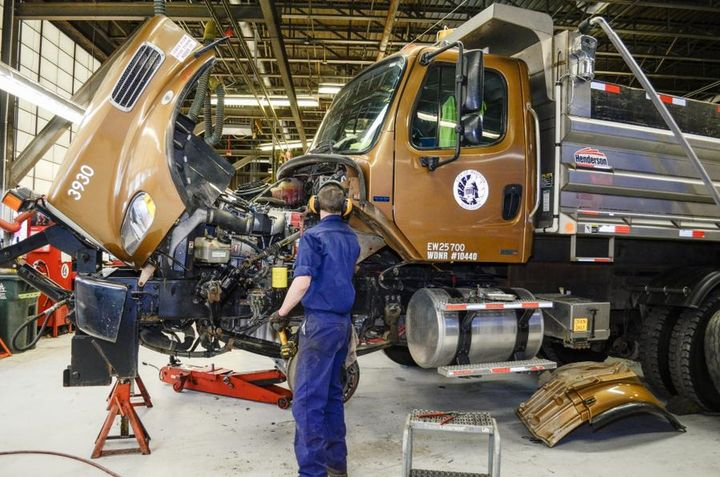 Madison fleet technicians have been trained on data entry so that correct information is entered into the fleet management system. - Photo: City of Madison