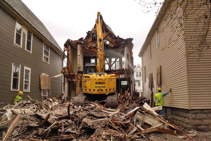 Back in February of 2014, the City of Milwaukee started its own in-house property demolition crew to raze vacant city-owned properties.  - Photo: City of Milwaukee