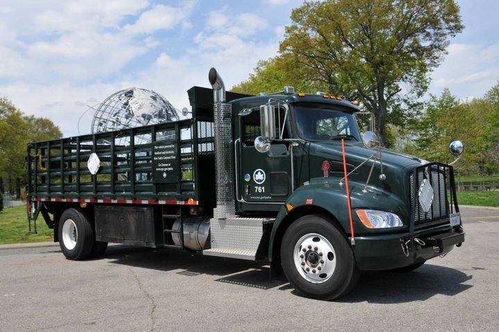 A NYC Parks truck that runs on biodiesel. - Photo: NYC Department of Citywide Administrative Services