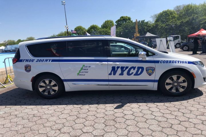 A PHEV Corrections vehicle. - Photo: NYC Department of Citywide Administrative Services