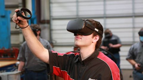 The Diesel by Distance program will now feature VR simulations that recreate the working...