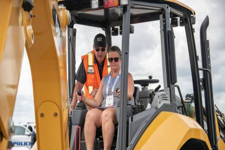 Attendees at previous conferences were able to operate equipment and test drive vehicles during the Block Party. - Photo: GFX file photo