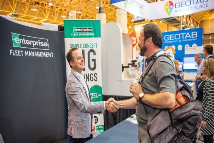 Solutions providers and attendees connect on the expo show floor. - Photo: GFX file photo