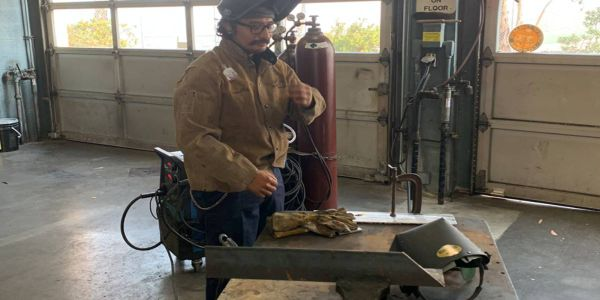 Results from a welding air fume test scenario indicated airborne exposures were well below...