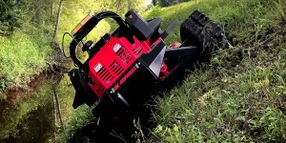 Remote Mowers Allow Safe Maintenance of Extreme Landscapes