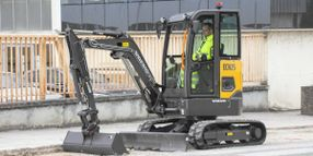 Electric Excavator Offers Zero Emissions, Quiet Operation