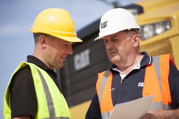 Fleet managers need to work closely with their organization's heavy equipment operators to ensure safety. - Photo: Caterpillar