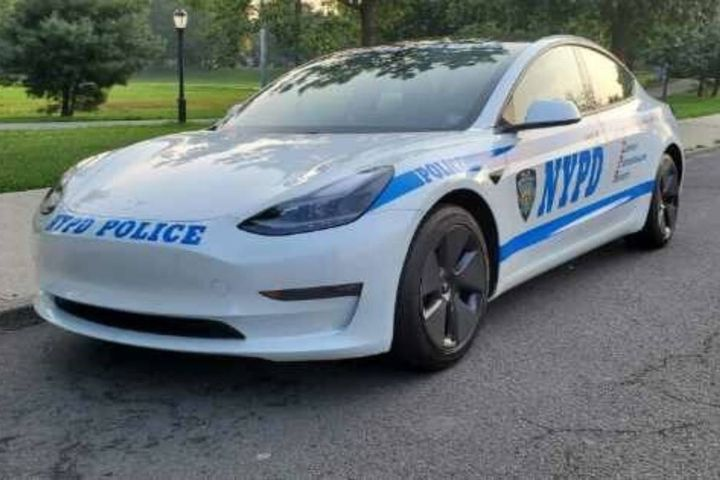 After upfitting, the vehicle will cost approximately $58,000, with an expected five-year fuel savings of approximately $11,500 and lower maintenance costs than traditional internal combustion engine vehicles. - Photo: NYPD