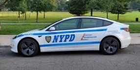 NYPD Talks Tesla Upfitting, Safety Features