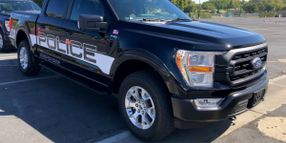 Focus on the 2021 F-150 Police Responder