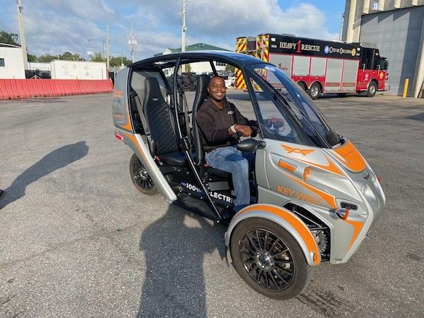 """Having an increased amount of time to prepare for and learn abouthis new role as fleet division manager,allowed Jonathan Fordto have """"a truly seamless transition. - Photo: City of Orlando"""