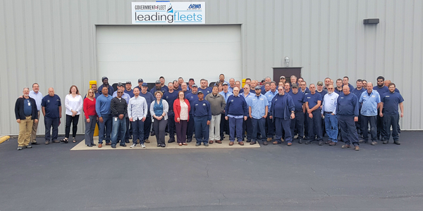 The City of Columbus fleet division staff of 121 employees will celebrate the No. 1 fleet award...