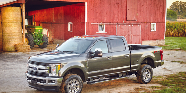 The 2017 Ford F-Series Super Duty features an all-new, high-strength steel fully-boxed frame,...