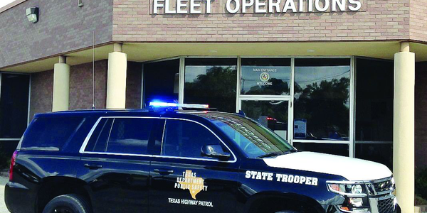 About 2,800 vehicles serve the Texas Highway Patrol, including Dodge Chargers, Ford Crown...